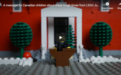 Prime Minister's Speech to kids about Covid19 (the Lego version!)
